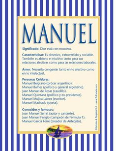 Manuel, imagen de Manuel