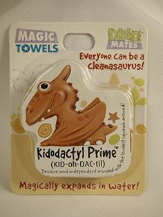 John Hinde DinoMates Magic Towel Kidodactyl Prime * Be sure to check out this awesome product. (Note:Amazon affiliate link)
