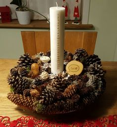 Nature decoration #jul #diy #christmas