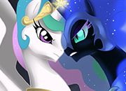 Celestia Vs Luna: 1000 años atras