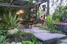 Melbourne Flower and Garden Show, best in show - do you think they could come and set it up in my courtyard?