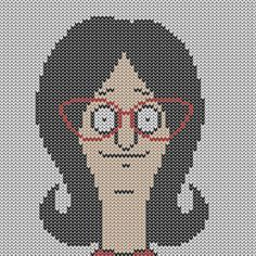 What up, my knittah? Awesome and #free set of  Bob's Burgers knitting charts  (which could also be done in cross-stitch, or crochet) by: F.P. Molina