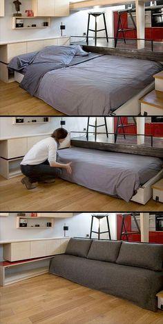 Imagen - Ideas de decoración: camas ocultas, la mejor solución para ganar espacio en los pisos pequeños