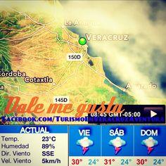 Que tengan un excelente #viernes a disfrutar de este día nubladito en #Veracruz #megusta http://www.facebook.com/TurismoEnVeracruzAventura #Mexico