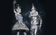 Space Kostüm selber machen