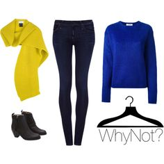 """""""It's all about the blue..."""" by fashionwhynot on Polyvore"""