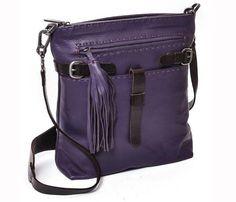 #Purple CrossBody #Leather #Handbag