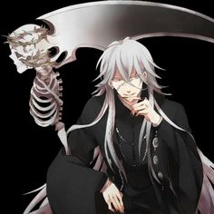 I cant look away! X3  Undertaker - Black Butler