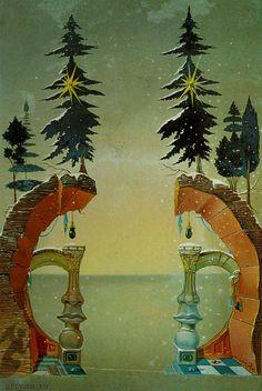 Christmas by Salvador Dali.