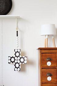 Interior DIY Kreuzkette Cross-chain marokkanisches Muster