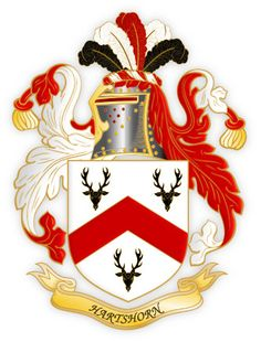 The Hartshorn Family Crest - History