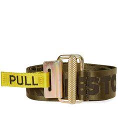 Heron Preston Jacquard Tape Belt In Green Military Issue, Military Green, Heron, Bring It On, Mens Fashion, Preston, Luxury, Sneakers, Belts