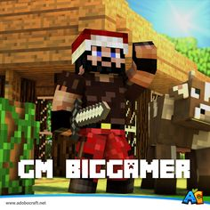 This guy is no need of introduction. If you've recently logged in, pretty sure you'll see him in the Spawn area. Our newest addition to the GM Team.. GM BigGamer!  #AdoboCraft www.adobocraft.net