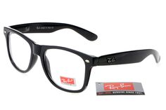 $14.93 buy 2013 Ray Ban Rare Print RB31 Whole Black Frames Transparent Lenses