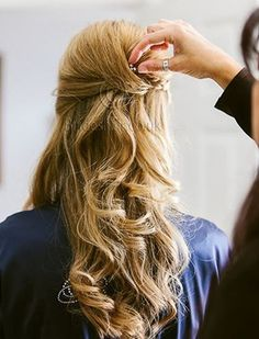 Wedding Hairdressers, Civil Ceremony, Bride Hairstyles, Fashion Company, On Your Wedding Day, Bridal Hair, Bridesmaid, Long Hair Styles, Beauty