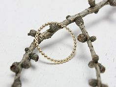 Beaded Wire Stacking Ring Gold Filled by TessaMDesigns on Etsy Stacking Rings, Gifts For Her, Gold Rings, Wire, Trending Outfits, Unique Jewelry, Handmade Gifts, Bracelets, Etsy