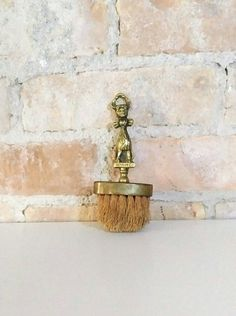 Antique Solid Brass Cheshire Cat Whisk by NoVeto on Etsy