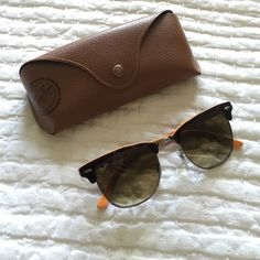 47f2226799 Authentic Ran-Ban clubmaster sunglasses Brand new Ray- Ban clubmaster  sunglasses NWT tortoise with