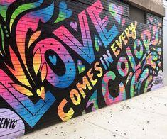 art for kids Graffiti - kunst für kinder graffiti Murals Street Art, Graffiti Art, Graffiti Lettering, Street Wall Art, Stonehenge Nyc, Neon Spray Paint, Street Art Photography, Paris Ville, Human Art