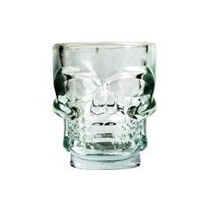 """Buvez vos boissons favorites avec cette chope en forme de crâne! Son design en 3D donne un effet """"mortel"""" à vos soirées!"""