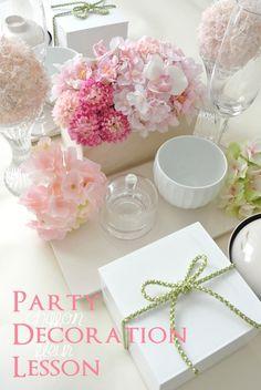 桃の節句 テーブルコーディネート