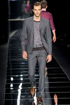 John Richmond Fall 2012 - Richmond's  menswear line has quickly become one of my favorites.