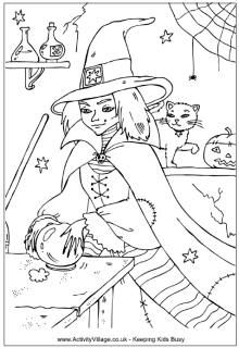 1000 images about Witch coloring on Pinterest