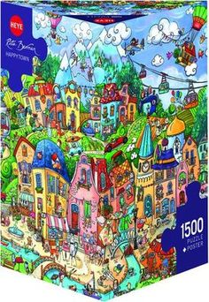 EMERGENCY ROOM Heye Puzzle 25784-2000 Teile Pcs. JEAN-JACQUES LOUP