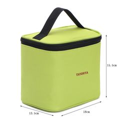 CrazyTravel Travel Cooler Thermal Lunch Bag Tote Box Container With Water Holder Pocket