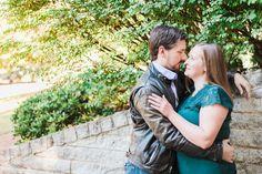 Aubri + Daniel // Big Spring Park // Huntsville Engagement - Huntsville Wedding Photographer   James and Company Photography
