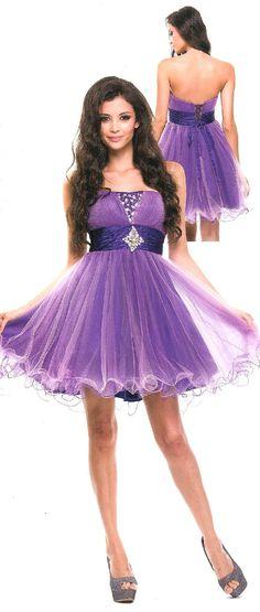 Evening DressQuinceanera Dress under $100 1190  Star Stepping! Just Arrived Colors Purple/pink