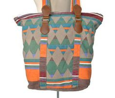 Navajo Print Tote Uncovet Like the one Gma Ollie gave you@maggie