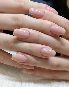 Natural nails & natürliche nägel & ongles naturels & uñas na Neutral Nails, Nude Nails, My Nails, Coffin Nails, Pastel Nails, Glitter Nails, Black Nails, White Nails, Nail Pink