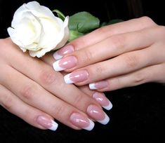 Acrylic French (extended nail beds)