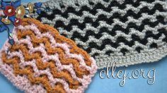 Ravelry: 2 mesh stitch pattern by Elena Kozhukhar