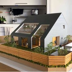 1 million+ Stunning Free Images to Use Anywhere Architecture Model Making, Concept Architecture, Interior Architecture, Architecture Apps, Casas The Sims 4, House Layouts, House In The Woods, Model Homes, Modern House Design