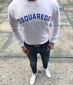 @marcopetina 👀 #dsquared2 #dsquaredcommunity Textiles, Jeans Fashion, Kenzo, Jeans Style, Cologne, Dsquared2, Ss, Graphic Sweatshirt, Sweatshirts
