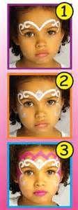 DIY Princess Crown Face Paint #DIY