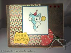 Craft Your Passion - #200 - Life of the Party - Good morning! Today is my second challenge with Craft Your Passion and it is a special one. This challenge marks the 200th challenge! To celebrate, 2 Cute Ink, has given us some adorable images to play with. The challenge this week is to use 1 of the challenges from the previous year. I will be...
