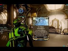 Warframe Frost Prime {Ice Wave Impedance MOD} PS4 GamePlay