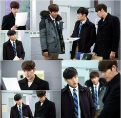 Lee Min Ho shared that he's just as eager as the viewers to find out what will happen on his drama 'Heirs'! 'Heirs' unveiled still cuts of Kim Tan (Lee Min Ho), Choi Young Do (Kim Woo Bin), and Lee Hyo Shin (Kang Ha Neul) teaming up in an investigation to find Cha Eun Sang (Park Shin Hye). The three 'Jeguk High' musketeers gave an eye candy explosion while filming the scene at a school in Oksudong, Seoul on the 2nd and looked hard at work.LOL