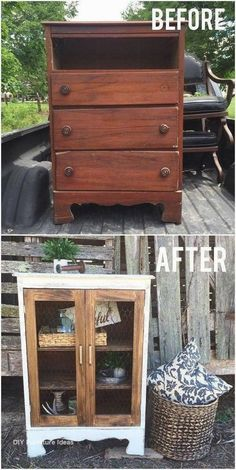 Diy Furniture Projects, Old Furniture, Refurbished Furniture, Farmhouse Furniture, Repurposed Furniture, Furniture Makeover, Furniture Design, Farmhouse Decor, Modern Furniture