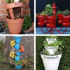 5 small-space gardening ideas small space gardening, small gardens, gardening tips, Garden Crafts, Garden Art, Garden Design, Diy Garden Projects, Dream Garden, Garden Beds, Backyard Plants, Backyard Patio, Backyard Ideas
