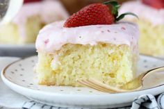 Strawberry Champagne Cake will make you want to celebrate. And you don't even need an excuse!