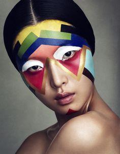 Sung Hee by Benjamin Vnuk make-up Beauty Makeup, Eye Makeup, Fairy Makeup, Mermaid Makeup, Movie Makeup, Make Carnaval, Art Visage, Make Up Art, Fantasy Makeup