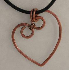 Heart necklace tutorial