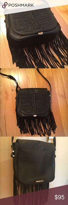 NEWBCBG MaxAzria Fringe Crossbody Bag NEW Fringe Crossbody Bag. Adjustable crossbody strap. no trade no PayPal no hold BCBGMaxAzria Bags Crossbody Bags