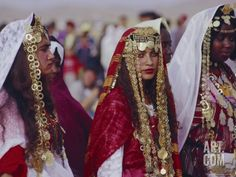 Berbers Of North Africa | Traditional Berber Wedding, Tataouine Oasis, Tunisia, North Africa ...
