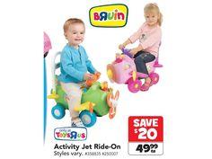 Bruin Activity Jet Ride-On James 1, Toys R Us, Lets Play, Summer Fun, Jet, Let It Be, Activities, Summer Fun List, Summer Activities