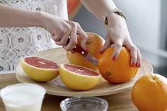Grapefruit vám ochraňuje přímo linii pasu; Thinkstock